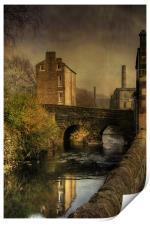 Old Mills, Print