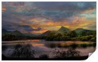 Derwent Water., Print