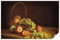 Fruit Basket, Print