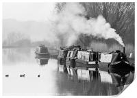 The Gloucester and Sharpness Canal, Print