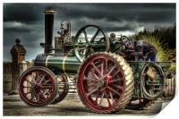 Traction Engine PT1916, Print