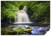 West Burton Waterfall, Print