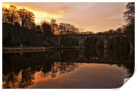 Prebends Bridge Durham, Print