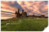 Dunstanburgh Castle, Print