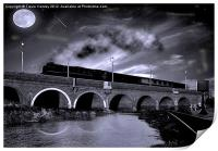 The Night Train, Print