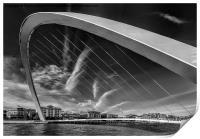 Newcastle Cityscape, Print