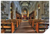 Buckfast Abbey, Print