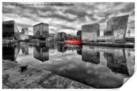 Canning Dock, Liverpool, Print