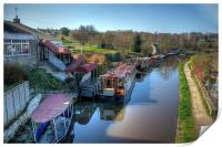 Barges, Print