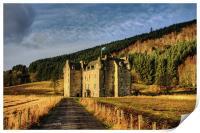 Clan Menzies Castle, Print