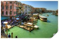 Crowded Venice, Print