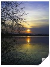 The end of a beautiful day, Print