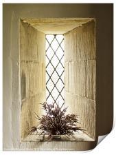 The Church Window, Print
