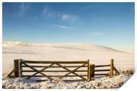 A Winter Gate, Print