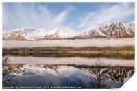 Loch Lochy in Winter, Print