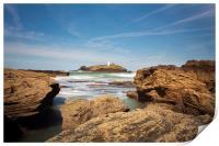 Godrevy lighthouse Cornwall, Print
