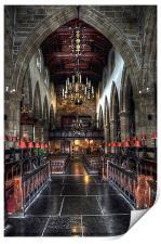 The Priory - Lancaster, Print