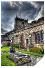 St Michaels on Wyre Church, Print
