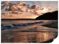 Sunrise over Carbis Bay, Print