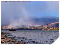 Snowstorm over Keswick, Print