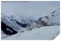 Swiss Alps. , Print