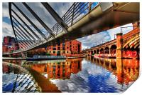 Castlefield Junction  Manchester, Print