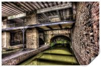Grocers Warehouse Castlefield Manchester, Print