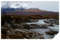 WHITE TOP CUILLINS , Print