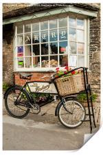 Baker's bike., Print