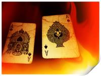 Aces of Fire, Print