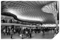 Kings Cross railway station, Print