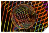 Bright lights in the ball, Print