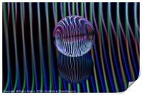 Eyes in the glass ball, Print