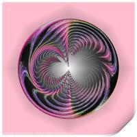 Circle of chaos, Print