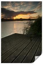 Radipole Sunset, Print