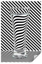 Striped Water, Print
