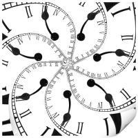 Clock Flower, Print