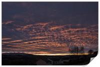 Sunrise, Print
