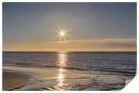 Ainsdale Beach Sunset, Print