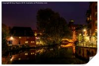 Night by the River, Print