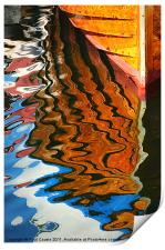Wooden Reflections III, Print