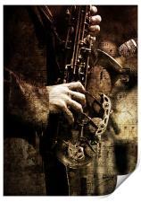 Old Sax, Print