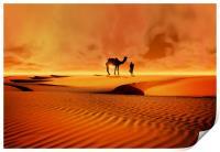 The Bedouin, Print