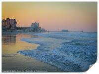 Daytona Beach, Florida, USA, Print