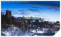 Winter comes to Edinburgh, Print