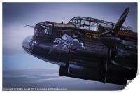 Lancaster, Phantom of the Ruhr, Print