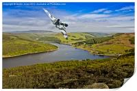 Olympus Thunder over the Bower, Print