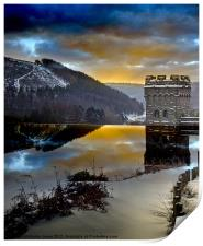Winter comes to Howden, Print