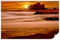 Harkess Rocks at Sunrise, Print