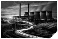 Power Generation - Yorkshire Style, Print
